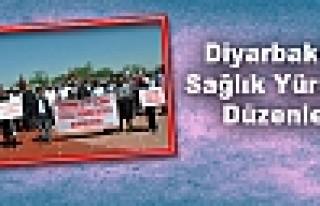 Diyarbakır'da Sağlık Yürüyüşü Düzenlendi