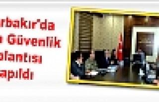 Diyarbakır'da Seçim Güvenlik Toplantısı Yapıldı