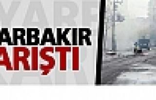 Diyarbakır'da Sur için yapılan eyleme müdahale