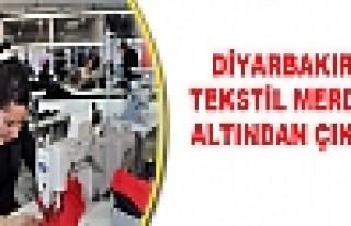 Diyarbakır'da Tekstil Merdiven Altından Çıkacak