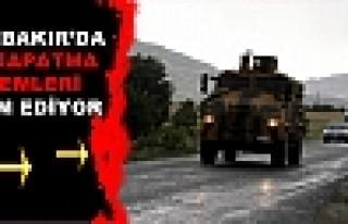 Diyarbakır'da Yol Kapama Eylemi Sürüyor