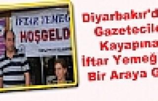 Diyarbakır'daki Gazeteciler Kayapınar İftar Yemeğinde...