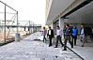 Diyarbakır'daki spor tesislerinde inceleme