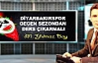 Diyarbakırspor Geçen Sezondan Ders Çıkarmalı