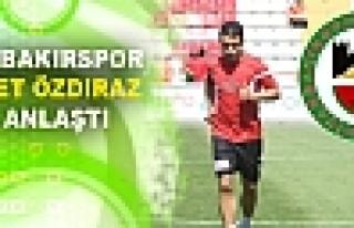 Diyarbakırspor, Mehmet Özdıraz ile Anlaştı