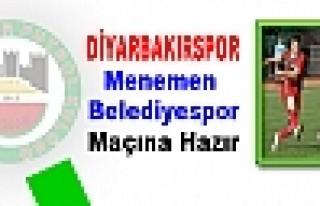 DİYARBAKIRSPOR'DA MENEMEN BELEDİYE HAZIRLIKLARI...