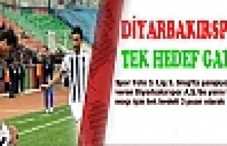 DİYARBAKIRSPOR'DA TEK HEDEF GALİBİYET