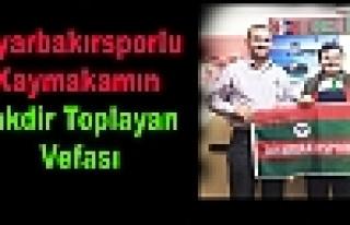 Diyarbakırsporlu Kaymakamın Takdir Toplayan Vefası