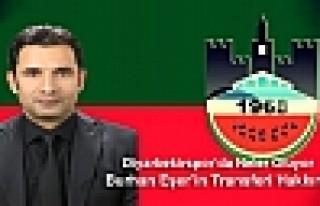 Diyarbekirspor'da Neler oluyor ve Burhan Eşer Transferi