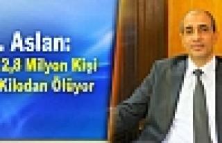 Dr. Aslan: Her Yıl 2,8 Milyon Kişi Fazla Kilodan...