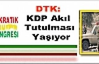 DTK: KDP Akıl Tutulması Yaşıyor