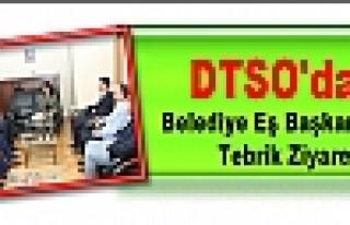 DTSO'dan Belediye Eş Başkanlarına Tebrik Ziyareti