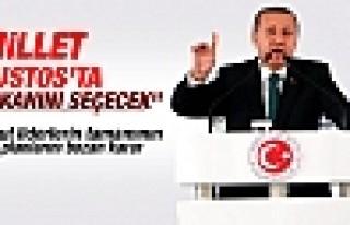 Erdoğan: Millet 10 Ağustos'ta başkanını seçecek