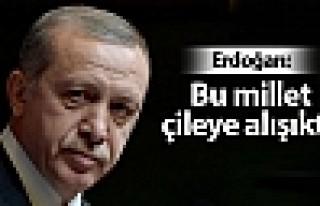 Erdoğan: Rus doğalgazı olmazsa yandık, bittik'...