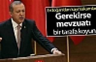 Erdoğan'dan kaymakamlara: Gerekirse mevzuatı bir...