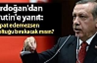 Erdoğan'dan Putin'e yanıt: İspat edemezsen koltuğu...