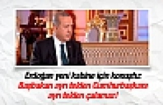 Erdoğan'dan yeni kabine açıklaması!