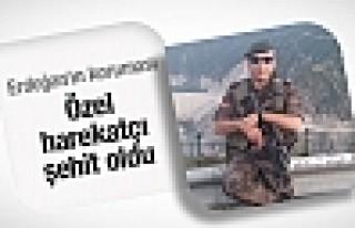 Erdoğan'ın koruması özel harekatçı şehit oldu