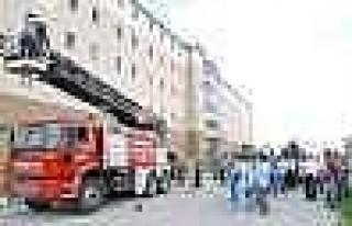 Ergani Devlet Hastanesi'nde Yangın Tatbikatı