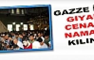 Gazze İçin Gıyabi Cenaze Namazı