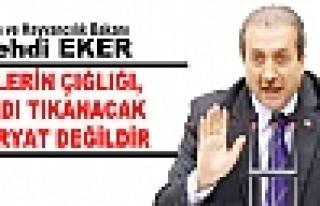 Gıda Tarım ve Hayvancılık Bakanı Mehdi Eker,...