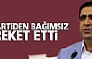 HDP: Zana partiden bağımsız hareket etti