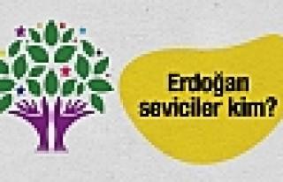 HDP'deki Erdoğan seviciler kim?