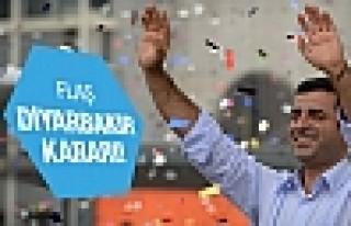 HDP'den flaş Diyarbakır kararı!