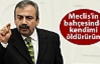 HDP'li Önder: Meclis'in bahçesinde kendimi öldürürüm