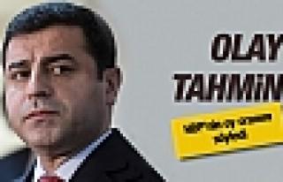HDP'nin oy oranı Demirtaş'ın tahmini olay oldu