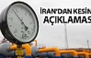 İran'dan 'doğalgaz kesintisi' açıklaması