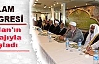 İslam Kongresi Öcalan'ın mesajıyla başladı