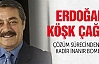 Kadir İnanır'dan Erdoğan'a Köşk çağrısı!