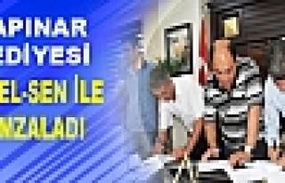 Kayapınar Belediyesi ile Tüm-Bel-Sen TİS İmzalandı
