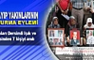 Kayıp yakınları Dersimli Işık ve Serin ailesinden...