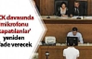 KCK davasında 68 kişinin ifadesi yeniden alınacak