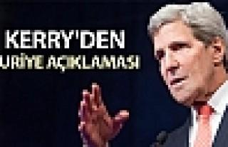 Kerry'den Suriye görüşmelerinin sonraki ayağına...