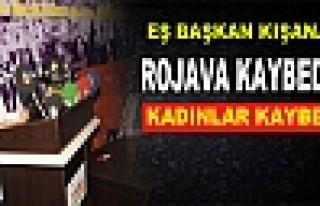 Kışanak: Rojava Kaybederse Kadınlar Kaybedecek