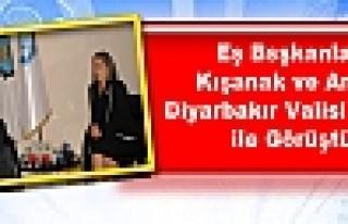 Kışanak ve Anlı, Diyarbakır Valisi Kıraç ile...