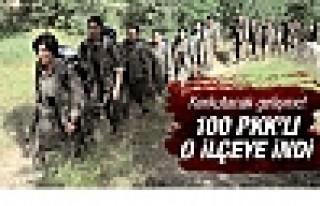 Korkutacak gelişme! Dağdaki 100 PKK'lı o ilçeye...
