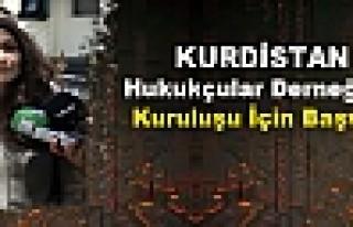 Kürdistan Hukukçular Derneğinin Kuruluşu İçin...