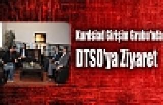 Kurdsiad Girişim Grubu'ndan DTSO'ya Ziyaret