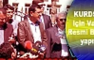 Kürdsiad İçin Valiliğe Resmi Başvuru Yapıldı
