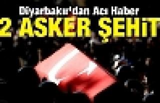 Lice'de Hain Tuzak: 2 ASKER ŞEHİT