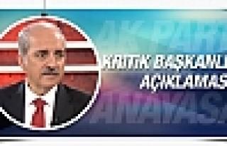 Numan Kurtulmuş'tan kritik yeni anayasa açıklaması
