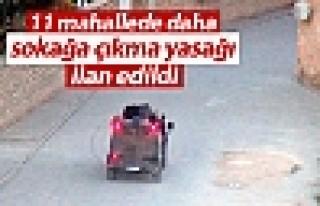 Nusaybin'de 11 mahallede daha sokağa çıkma yasağı...