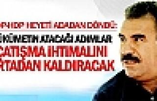 Öcalan: Hükümetin atacağı adımlar çatışma...