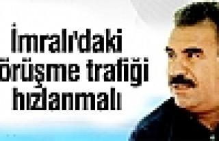 Öcalan: İmralı'daki görüşme trafiği hızlanmalı