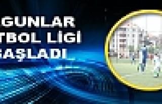 OLGUNLAR FUTBOL LİGİ BAŞLADI