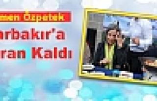 Özpetek Diyarbakır'a Hayran Kaldı